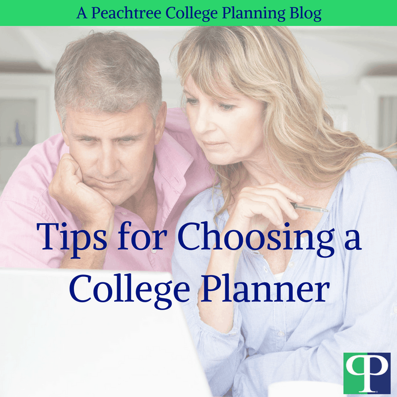 Tips for Choosing a College Planner