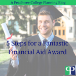 5 Steps for a Fantastic Financial Aid Award