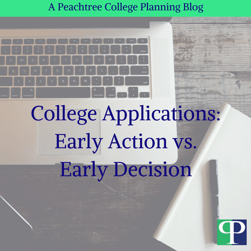 College Applications: Early Action v.s Early Decision