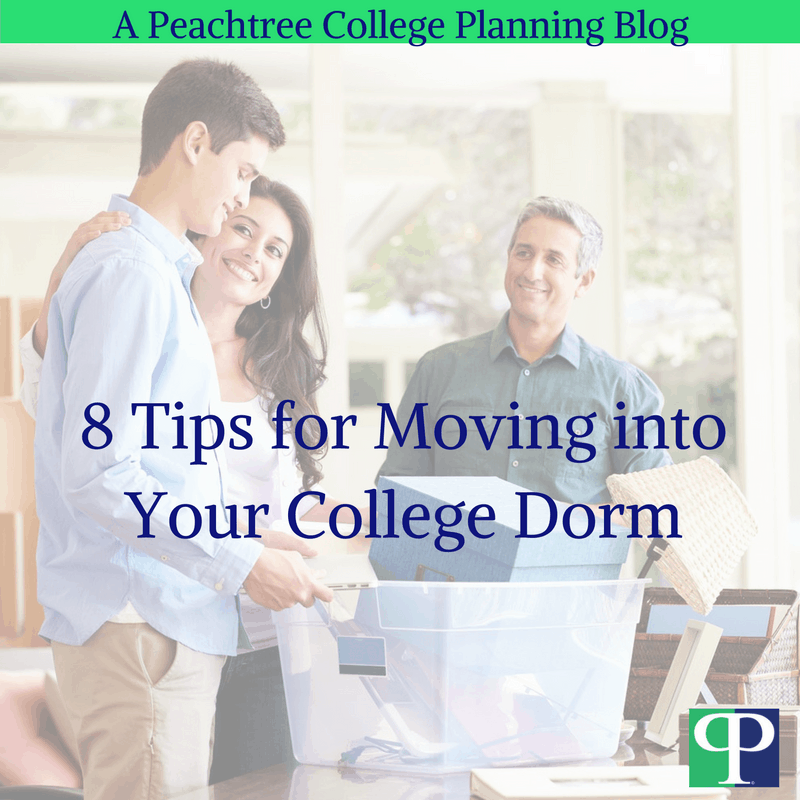 8 Tips for Moving into Your College Dorm