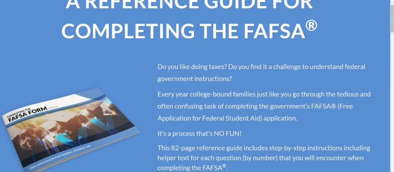 FAFSA Guide